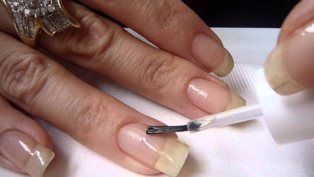 A.S.P Lightless Gel Review and Nail Repair Demonstration, via ...