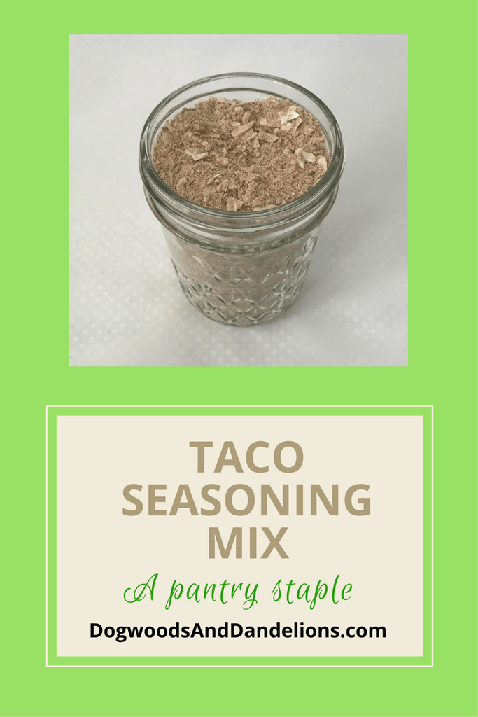 Taco Seasoning Mix #diytacoseasoning Ditch the packet and mix up this taco seasoning to keep in the pantry for taco night or taco soup. You probably already have most of the spices on hand. diy taco seasoning | gluten-free taco seasoning | homemade taco seasoning #diytacoseasoning