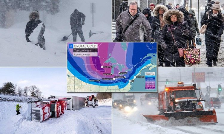 Dangerous subzero temperatures set to strike Midwest and