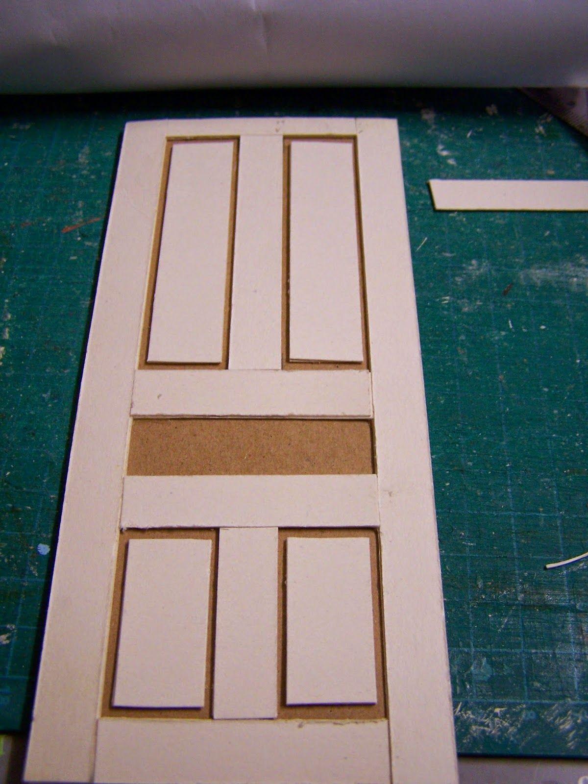 Miniaturas y casas de mu ecas ideas para maquetas - Puertas de casa ...