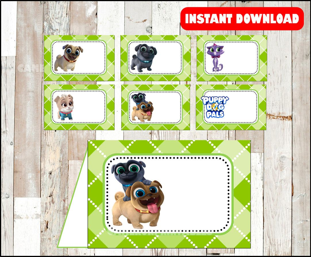 Puppy Dog Pals Pictures And Names
