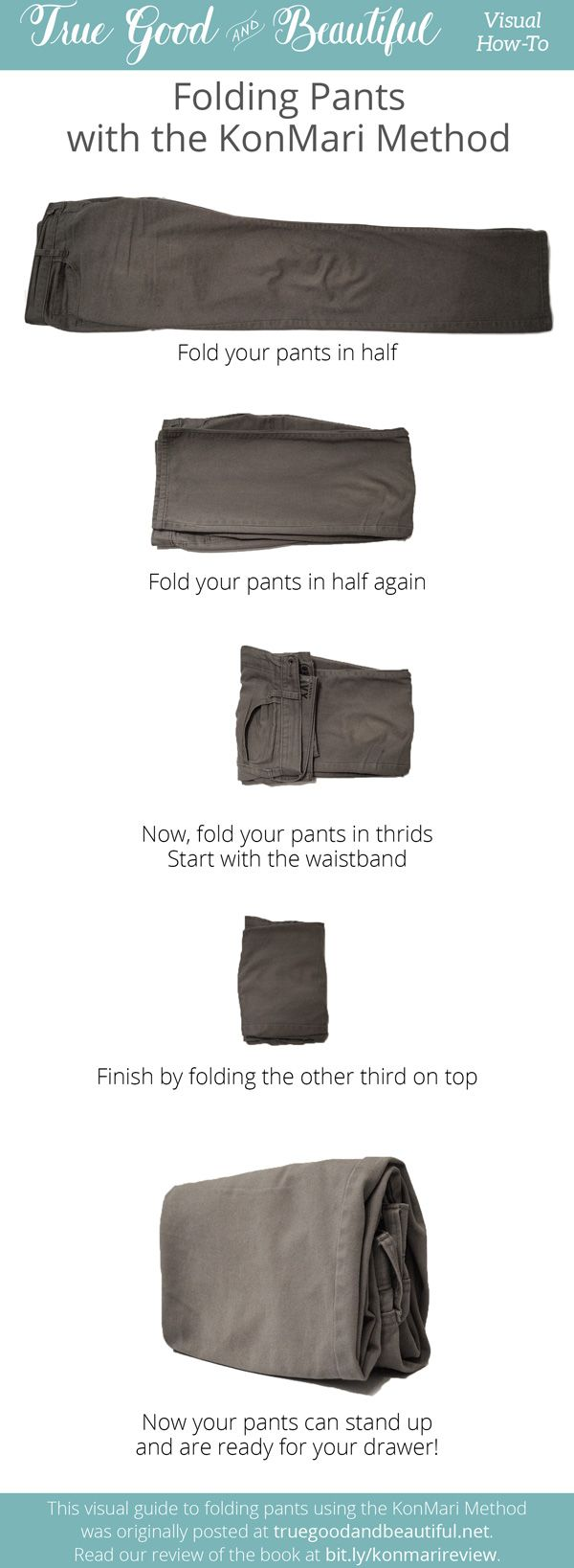 Google search of konmari method folding clothes time to for Minimalismus hausarbeit
