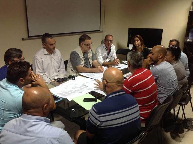 Grupo Mascarada Carnaval: La concejala de Fiestas se reúne con los directore...