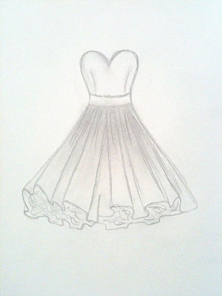 Kleid , , zeichnungen in 2019