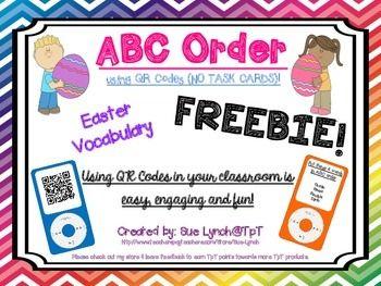 Pumpkin ABC Order | Classroom freebies