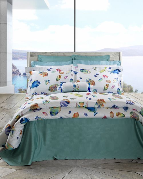 Riviera Home Collection Piumoni.Dive Into The Aquamarine Waters Of The Italian Riviera Without Leaving Your Bedroom Camogli Visit Dea Italian Luxury L Luxury Linen Make Your Bed Home Decor