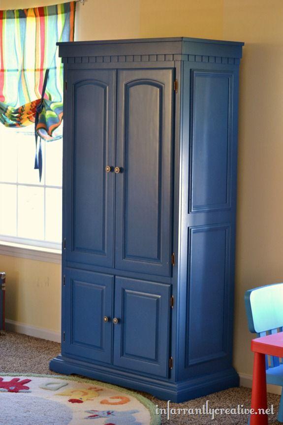 Blue TV Cabinet | Muebles para bar y Bar