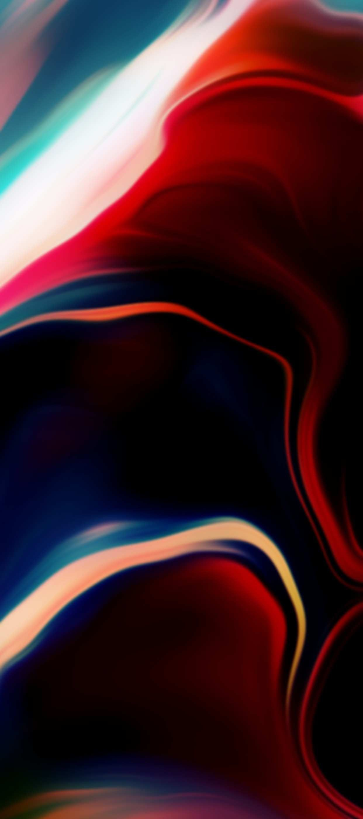 iPhone 11 Wallpaper iOS abstract red 4K HD Download Free