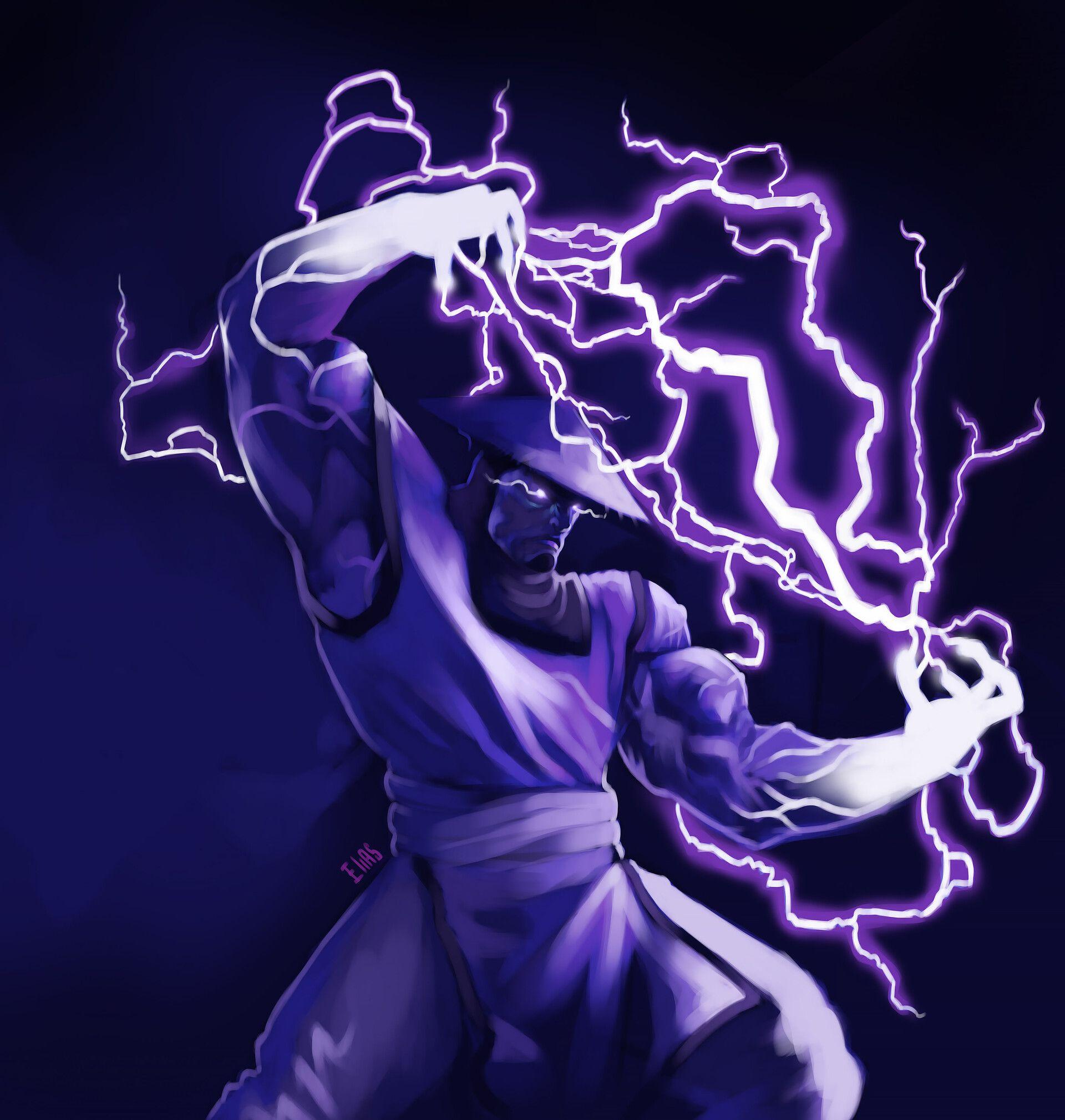 Artstation Raiden Mortal Kombat Elias Gomes Raiden Mortal Kombat Mortal Kombat Art Mortal Kombat