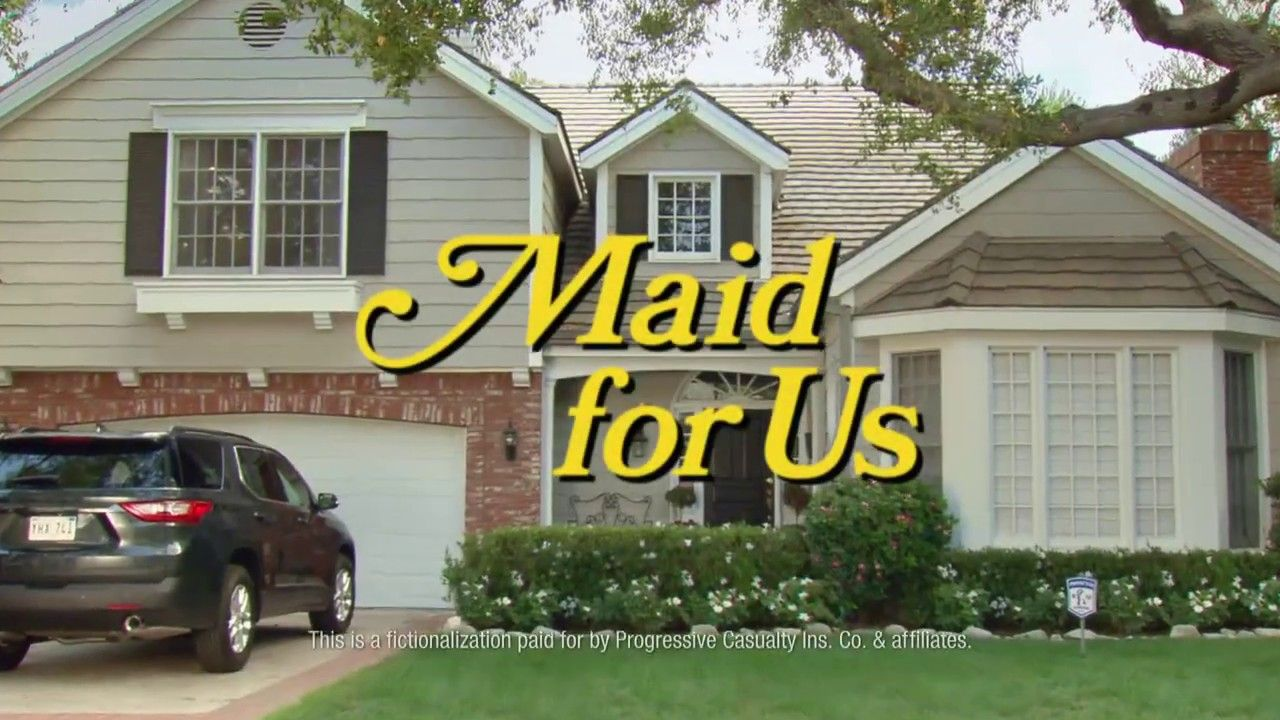 Maid For Us Progressive Insurance Commericial Home and