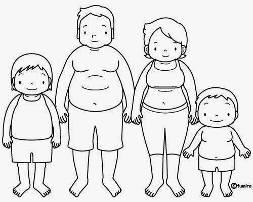Dibujos Para Colorear San Juan: Maestra De Infantil: Dibujos Para Colorear La Familia