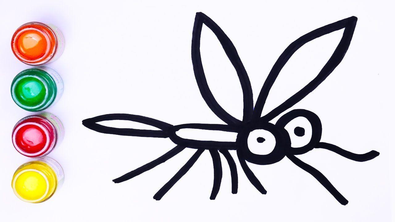 Gambar Mudah Dan Lukisan Nyamuk Langkah Demi Langkah Menggambar