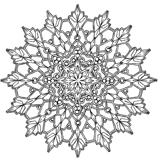 Beautiful Coloring Pages for Adults | Kaleidoscope Design ...