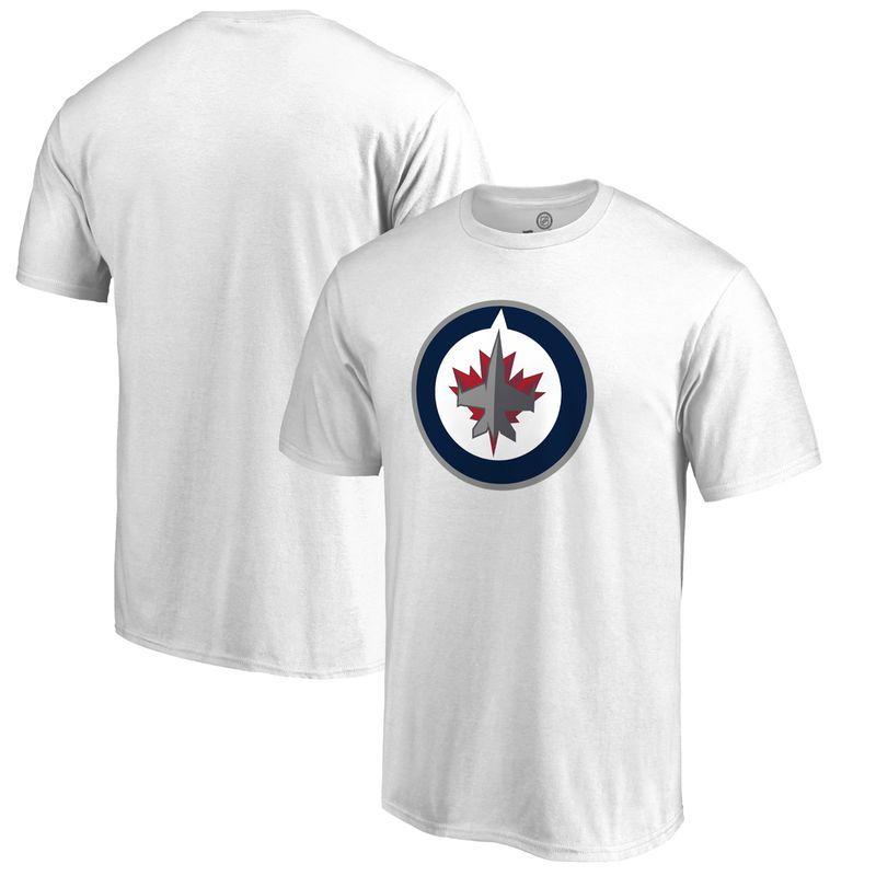cf1cfb4410c Winnipeg Jets Fanatics Branded Big & Tall Primary Logo T-Shirt - White