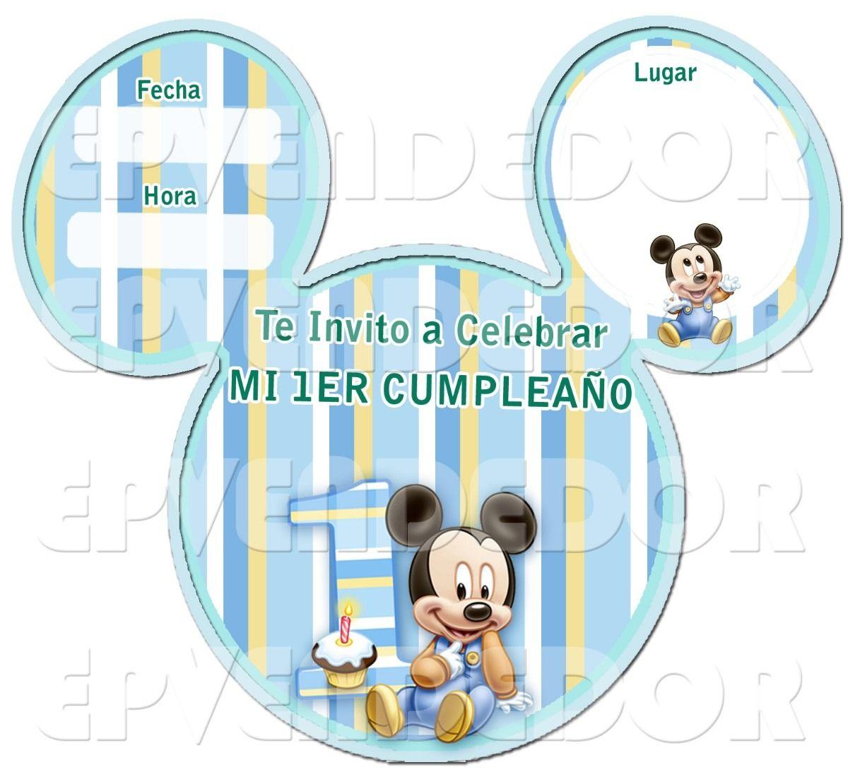 Pin De Edita Consuelo En Mickey En 2020 Cumpleaños De