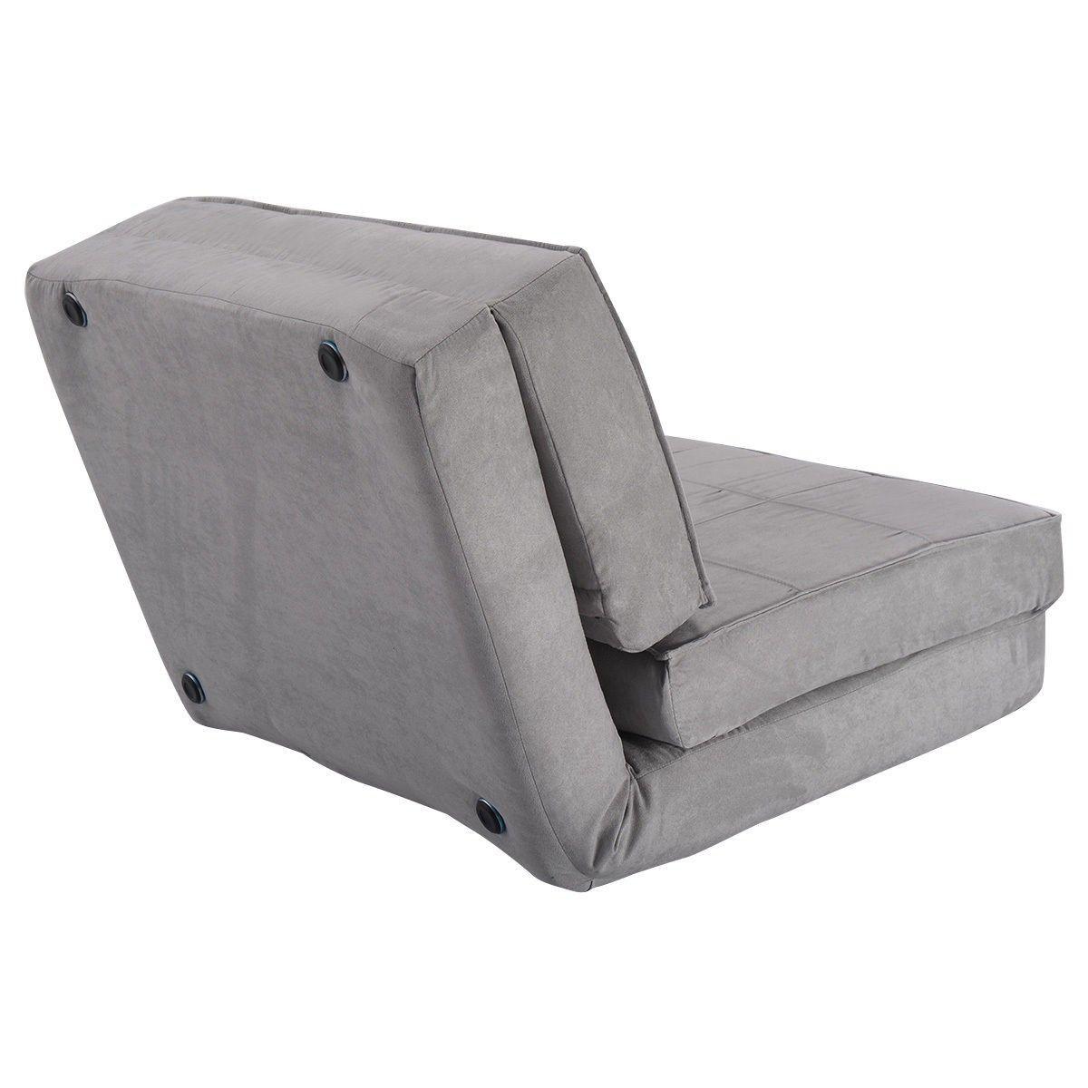 Surprising Convertible Lounger Folding Sofa Sleeper Bed Chairs Theyellowbook Wood Chair Design Ideas Theyellowbookinfo
