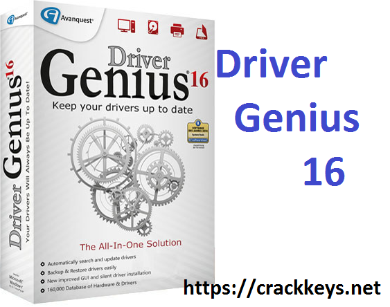 Driver Genius 17.0.0.139 Crack is world's best reliable professional driver management tool which has the ability to maintain driver management.
