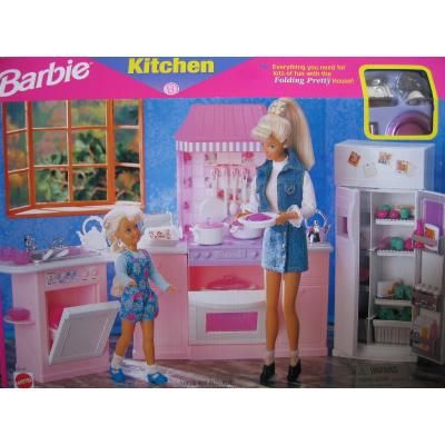 Barbie Kitchen-Everything you need for lots of fun with the
