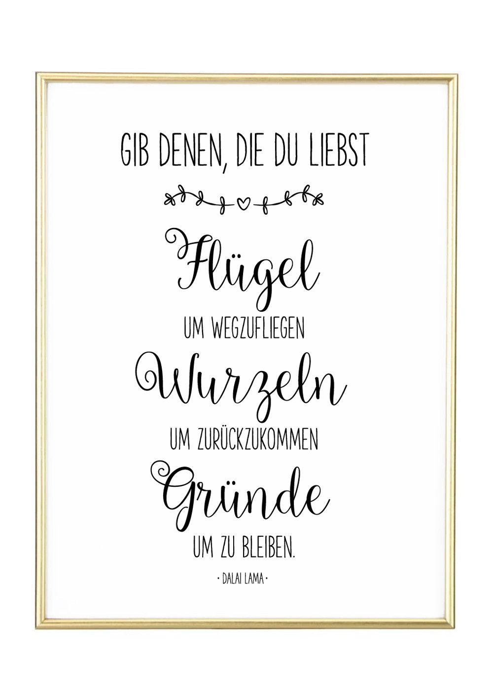 Familie Liebe Kunstdruck Gedichte Und Sprüche Kunstdruck