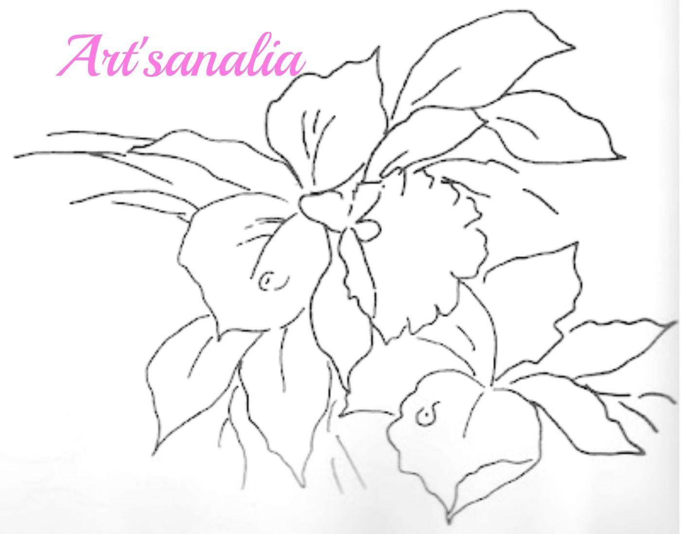 Riscos para pintar,PAPS de pintura,desenhos | Flores | Pinterest ...