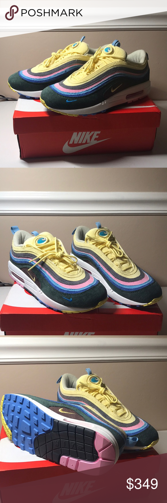 outlet store 34da5 67cea nike sean wotherspoon air max 1/97 9.5 brand new sean ...
