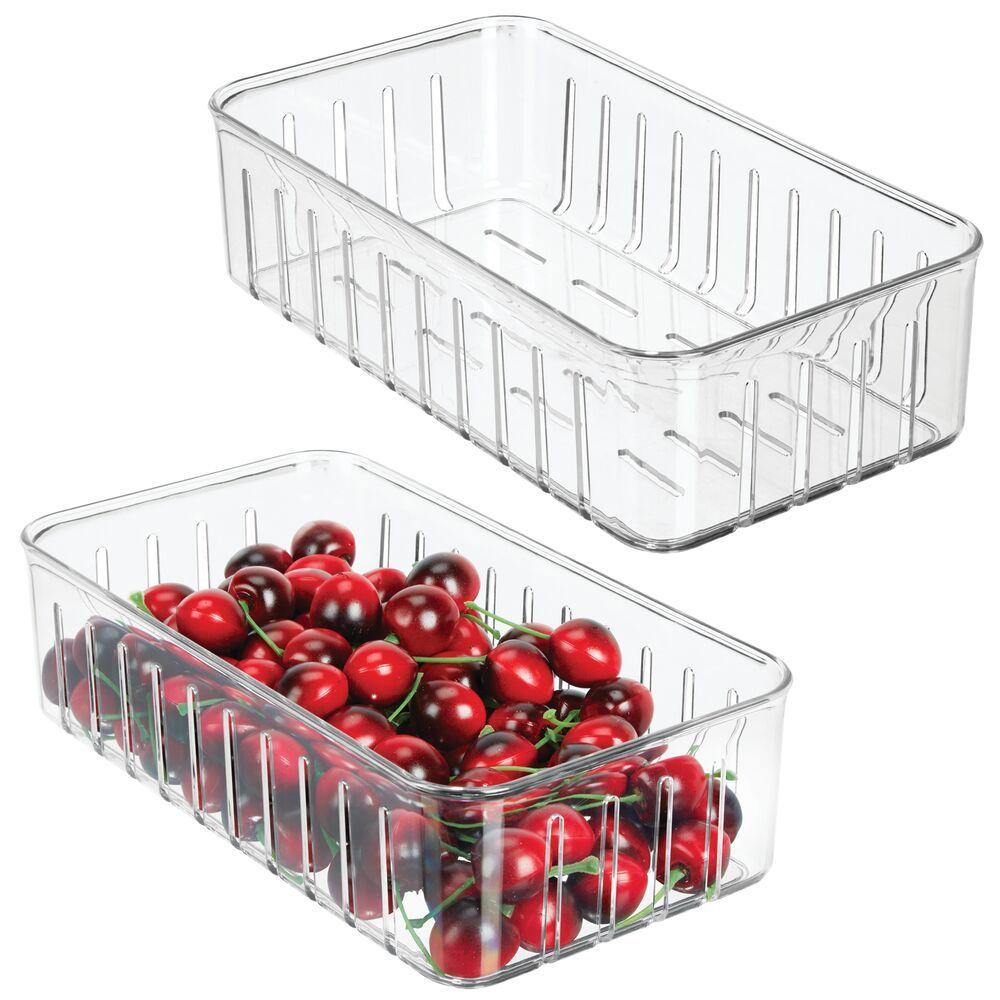 Vented Vegetable Fruit Storage Bin For