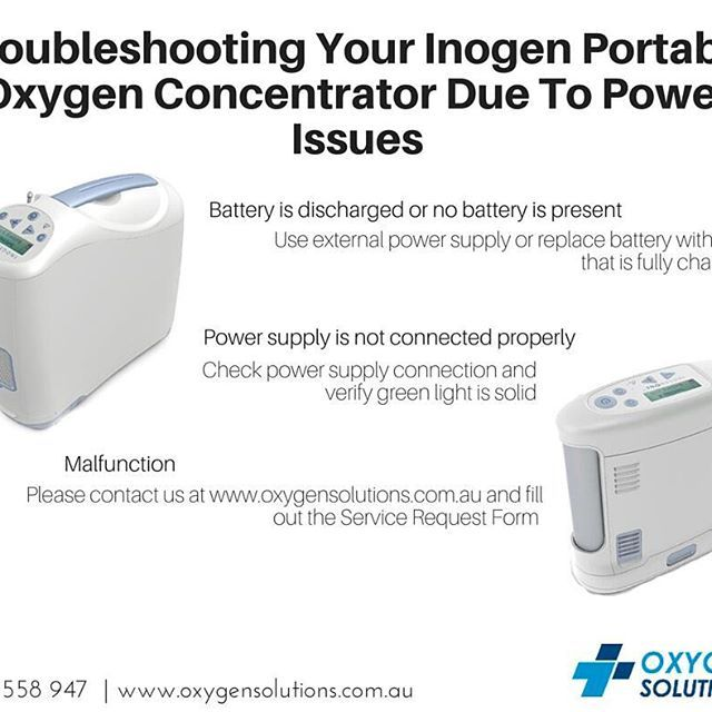 If youu0027re troubleshooting your Inogen Portable Oxygen Concentrator - supply request form