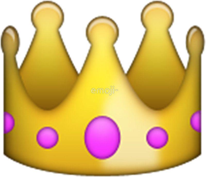 Emoji Crown By Emoji Emoji Stickers Emoji Emoji Wallpaper