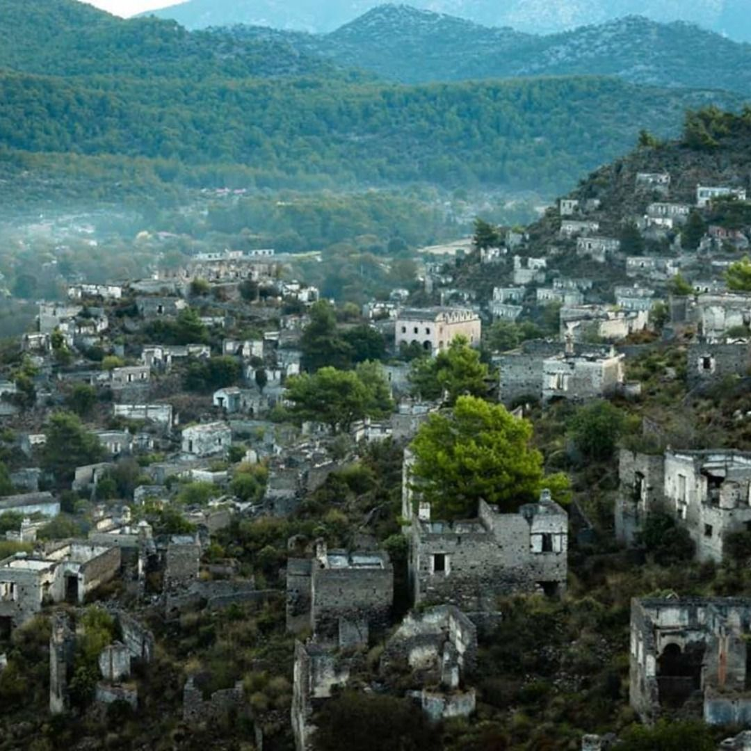The Village Of #Kayakoy Near #Fethiye Is One Of The TOP 10