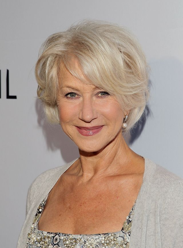 helen mirren hair styles helen mirren s framing layered bob haircut photo 8633