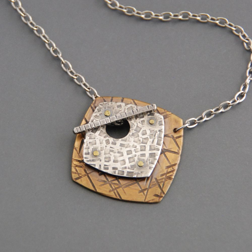 e88281a18f143 Handmade Jewelry by Maggie Joynt. I create mixed metal jewelry with ...
