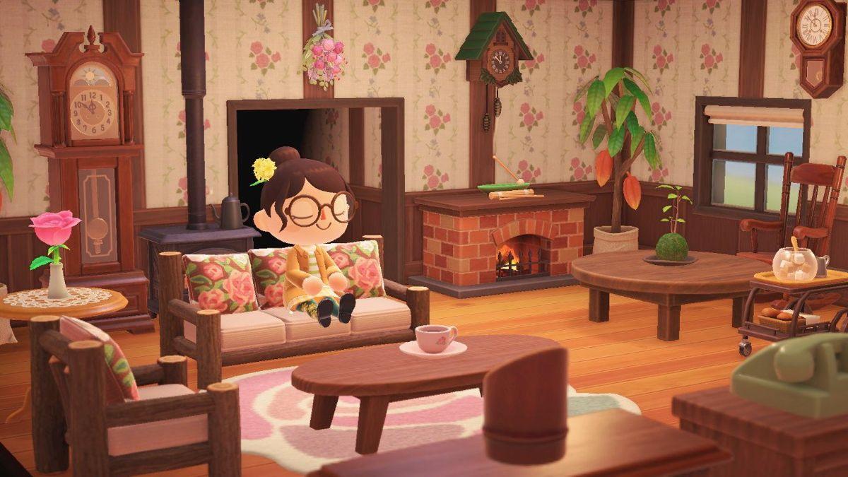 Pin By Bobby Galvan On Animal Crossing Inspo Living Room Designs Animal Crossing Cute Living Room