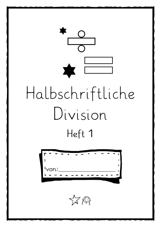 Halbschriftliche Divsion Bis Heft 1