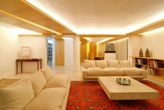 Apartment Refurbishment In A Vespucio Enrique Browne Minimalist Living Room Living Room Designs Luxury Living Room