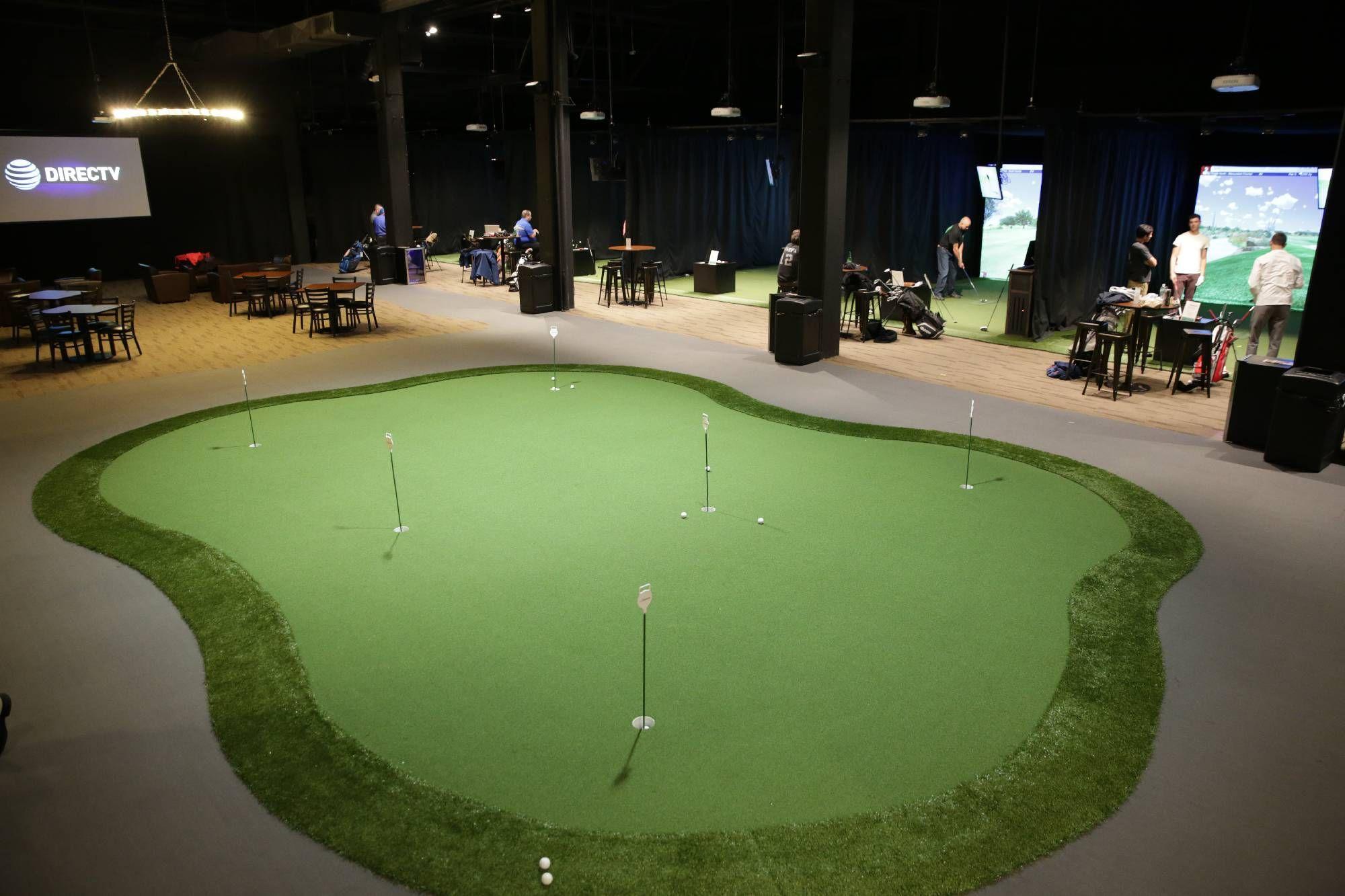 The Clubhouse | Fairfield NJ | Trackman Golf Simulators | ACV ...