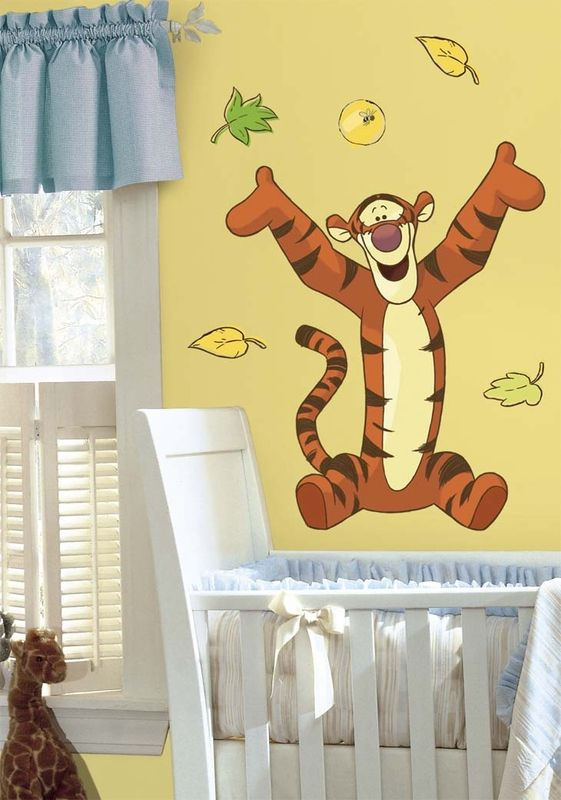Tigger Giant Peel & Stick Wall Decal | Tigger, Wall decals and Walls