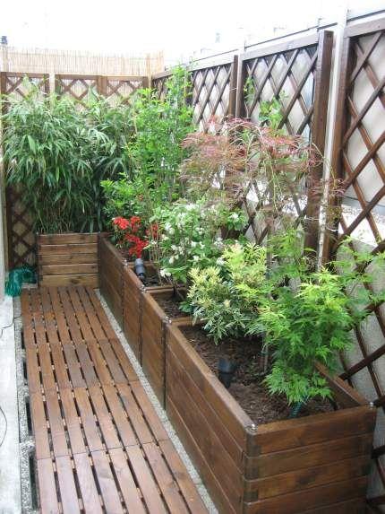 caillebotis et jolis bacs terrasse bois pinterest caillebotis bac et jolies. Black Bedroom Furniture Sets. Home Design Ideas