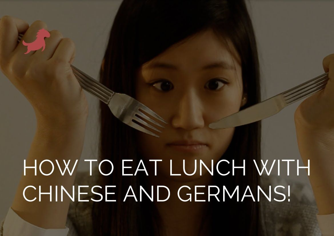How to eat lunch with Chinese and Germans! 和中国人 | 德国人一起午餐!