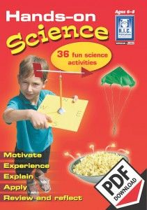 Hands-on science activities teacher notes and worksheets for