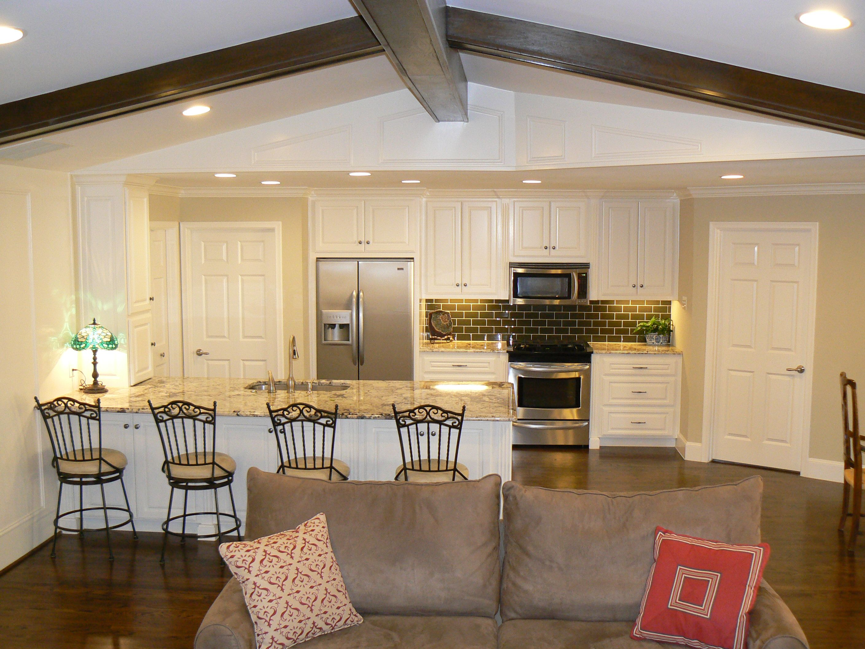 Image Result For Ideas To Make Galley Kitchen Open Concept Open Concept Kitchen Living Room Living Room And Kitchen Design Kitchen Design Open Galley kitchen remodel to open concept