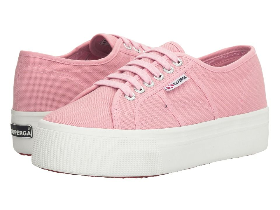 SUPERGA SUPERGA - 2790 ACOTW (VINTAGE LIGHT PINK) WOMEN'S LACE UP CASUAL  SHOES.