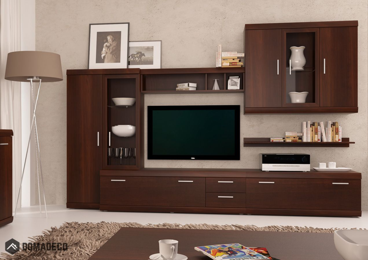 Imperial 1 Meubles Tv Design Modern Wall Units Wall Unit Furniture Design Living Room