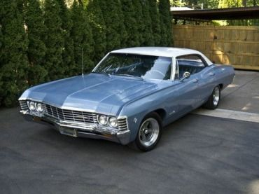 1967 Chevrolet Impala 4 Door Hardtop Sport Sedan With Zz383 Engine