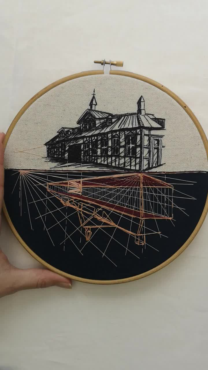 Photo of Architectural Embroidery by Charles and Elin