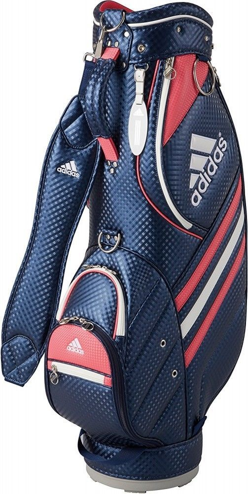 F/S adidas Cad Bag Las AWS55 Women's Golf Cart Bag Navy from ... on adidas tour golf bags, golf staff bags, adidas approach golf bags, adidas golf stand bags, adidas bags for boys, adidas golf bags clearance, adidas approach cart bag review, adidas samba black golf bags, adidas accessories,