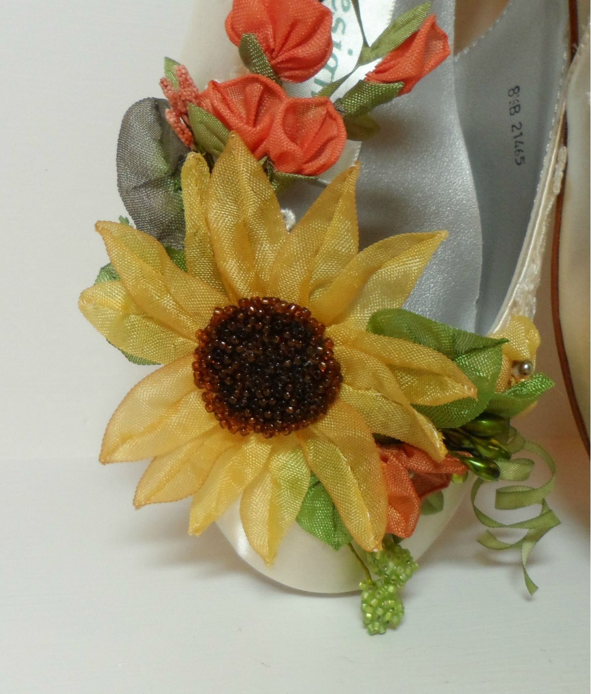 Sunflower Shoes Bride Fall Bridal