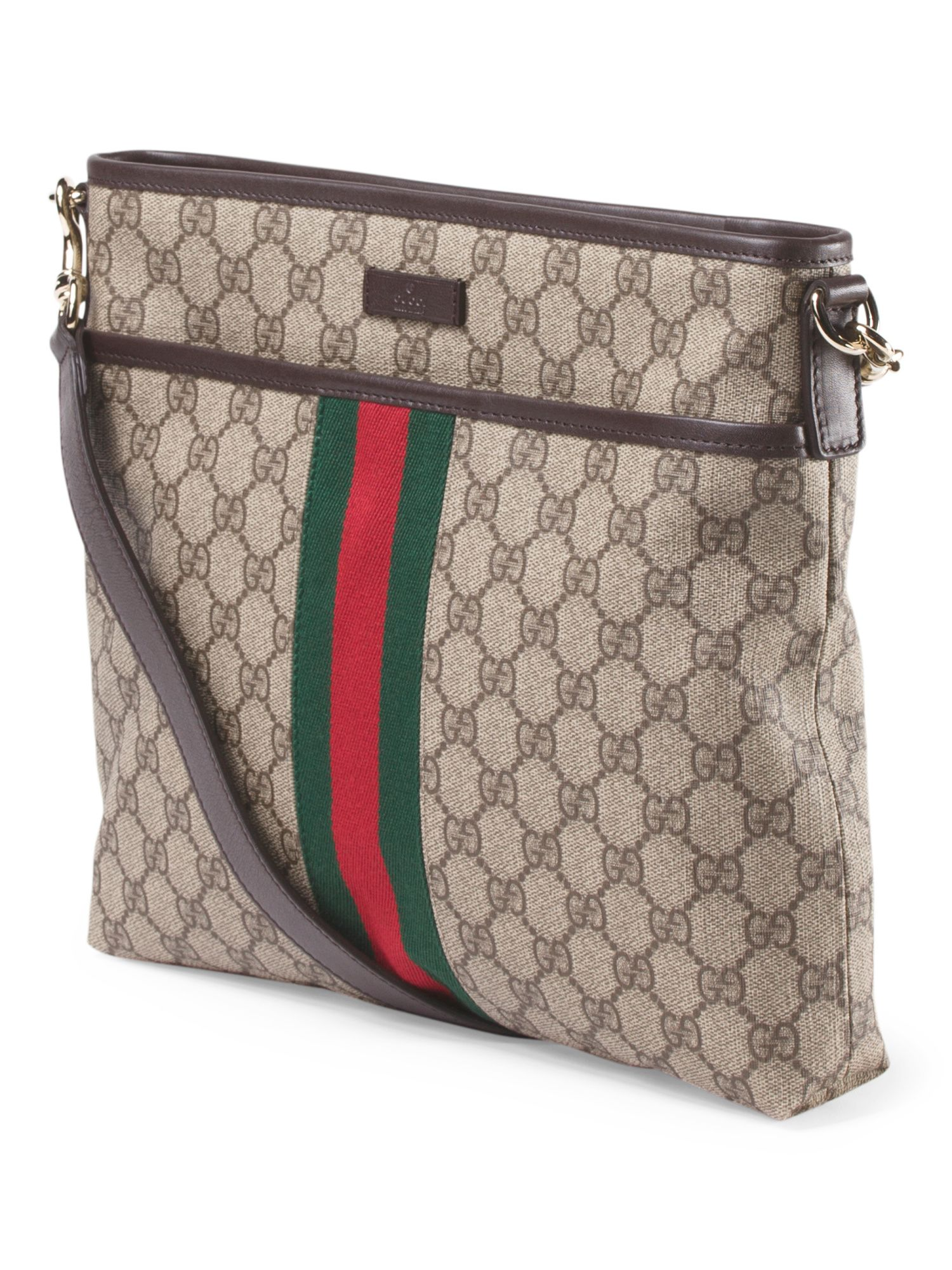 224be21f67c2 ... e961d4600b3 Made In Italy Canvas Leather Logo Crossbody - Crossbody Bags  - T.J. ... 20e257daa76 GUCCI.