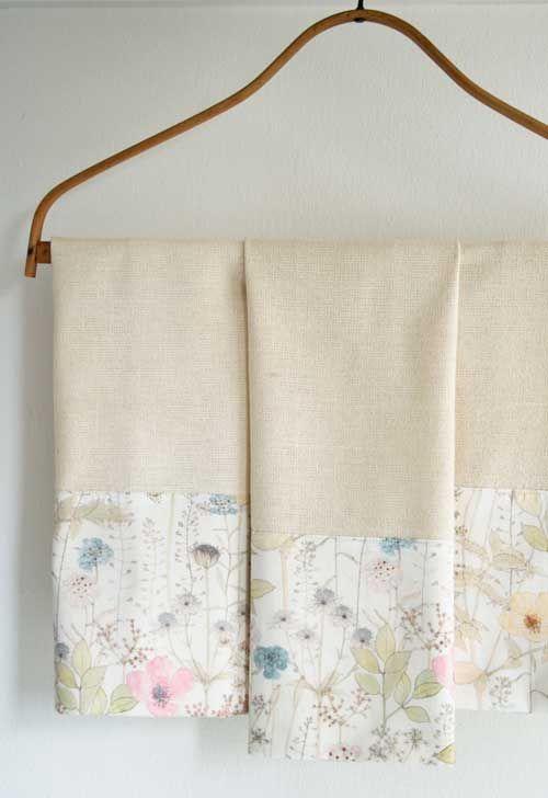Liberty Tea Towels – Free Sewing Tutorial | TELA TRAMA NIDO DE ABEJA ...