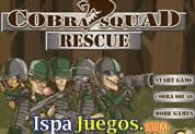 Juego de Cobra Squad Rescue | JUEGOS GRATIS Arma tu mejor estrategia para defenderte de los ataques enemigos de la armada contraria  http://www.ispajuegos.com/jugar6801-Cobra-Squad-Rescue.html