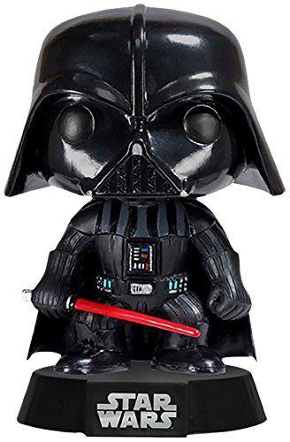 Pop Movies Darth Vader De Star Wars Figura De 10 Cm Funko